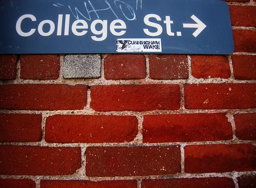 College St.