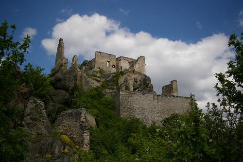 Руины замка Дюрнштайн