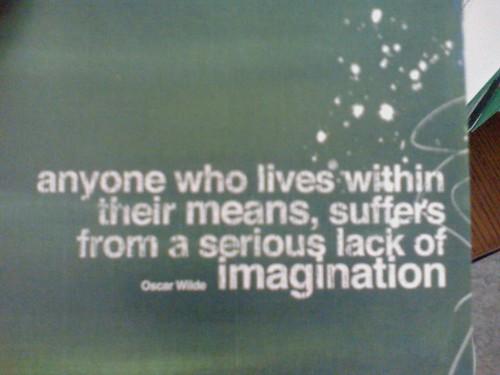 Wilde quote.