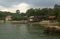 Kelongs in the fishing village (Paddy's point of view) Tags: rural forest singapore village jetty pulau malay pulauubin ubin kelong ubinvillagefishingfishing