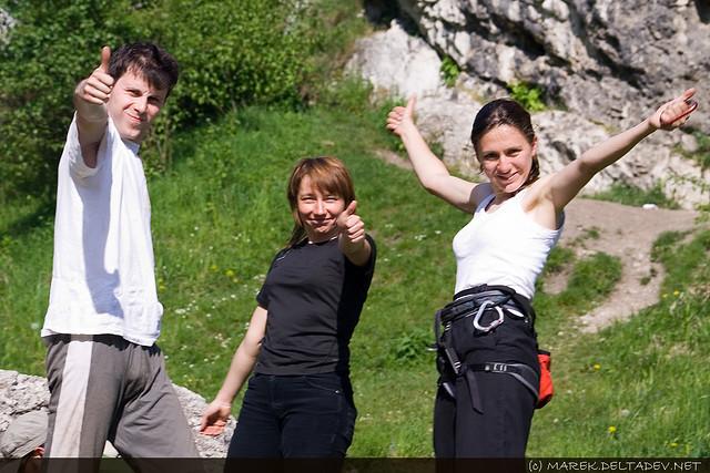 Rafał, Agnieszka i Marta