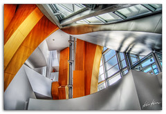 inside look (Kris Kros) Tags: california ca art look photoshop frank photography design la hall losangeles high concert nikon dynamic interior hill gehry disney architect bunker socal kris inside d200 walt range hdr kkg cs3 photomatix kros kriskros 5xp of kk2k bratanesque kkgallery