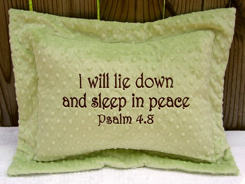 Scripture Baby Pillows