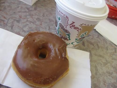 Free coffee and donut = happy Saturday BoSa