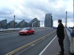 Dave on Wandsworth Bridge