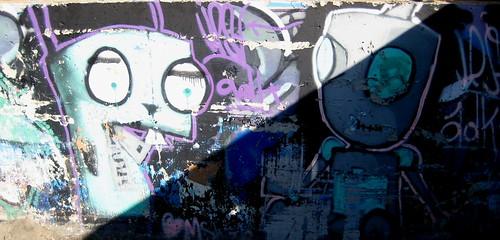 Graffitis de Invazor Zim 4509737540_1f6e934585