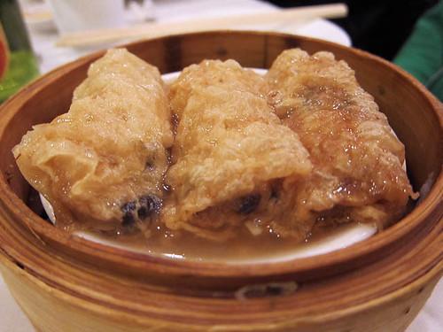 09 Fu Pei Guen - tofu skin roll - East Harbor Dim Sum