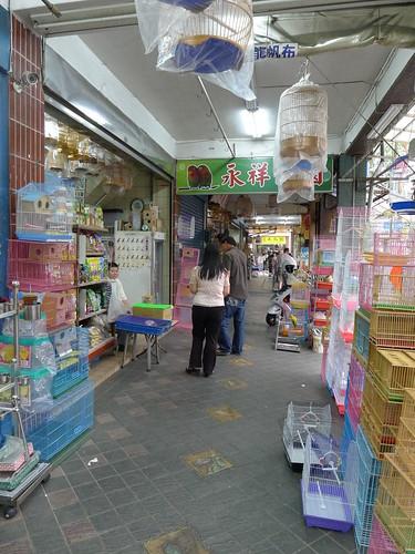 萬華鳥街-店門騎樓