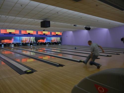 May 13 2011 Lee bowling