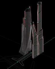 04_x00 (trevor.patt) Tags: tower cores highrise infrastructure taipei mrt gc hln parametric prtsc supertall superblock generativecomponents hiddenline