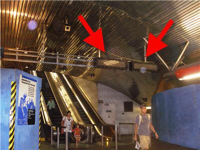 subway _led signage_arrows