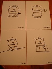 Uglydoll David Horvath Sketches (jcwage) Tags: uglydoll dunny uglydolls horvath davidhorvath sunmin uglycon