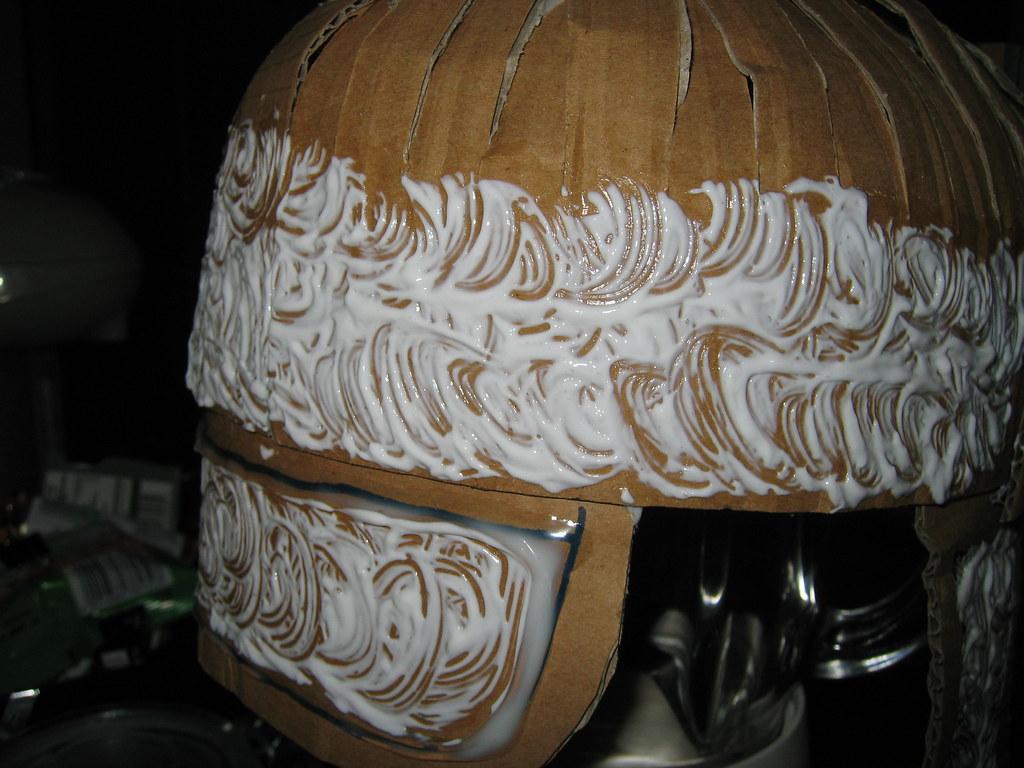 Roman Helmet Pattern