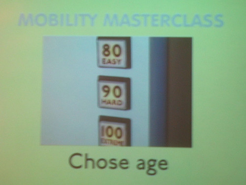 Mobility Masterclass choose age