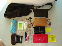 coach purse inside contents luckybrand verabradley