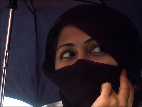 under my umbrella by Aine.