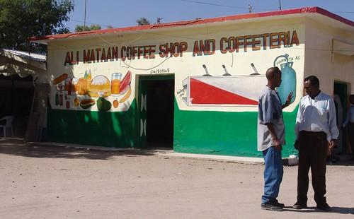Hargeisa - Ali Mataan Coffee Shop and Coffeeteria