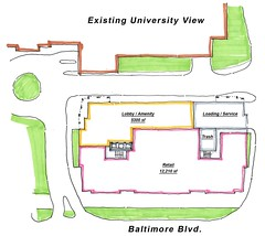 View first floor site plan