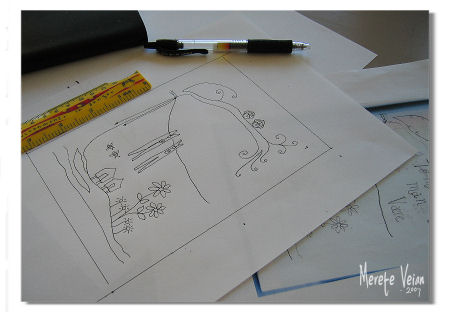 pattern drawing :: #3 :: tegne mønster