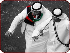(Cherie) Tags: white black university day united uae ad emirates zayed arab cherie zu nationa s3eed noonah cheriee fer8at elmazyood el7arbeya