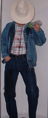 cowboy05 (splishsplash1123) Tags: cowboy jean denim jeanjacket wam westernwear wetdenim