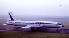 Bristol Britannia (John Faulkner) Tags: norfolk turboprop gance norwichairport bristolbritannia lloydinternational horshamstfaith
