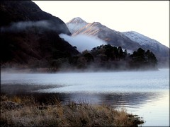 Enchanting (Nurmanman) Tags: trees winter mist mountain lake scotland frost hill loch fell glenfinnan magicmoment cubism scottishhighlands skottland naturesfinest wonderworld lochsheil golddragon anawesomeshot normansmith gensheil nurmanman1 nurmanman