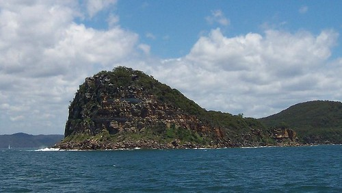 Lion Island from the Pam Beach ferry