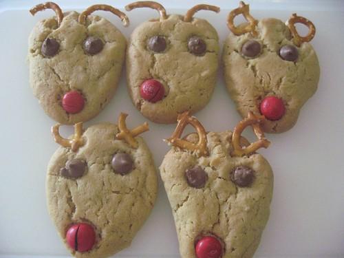 Peanut Reindeer Cookies