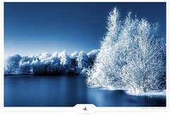 Wonderful Winter... (Gert van Duinen) Tags: landscape frost digitalart christmastrees landschaft landschap frozenlake winterscenery decembersnow christmas2007 dutchartist magicalworld landschaftsaufnahme wonderfulwinter decembermonth wonderfulseason gertvanduinen
