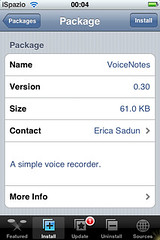 vnotes for  iphone