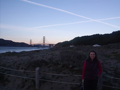 Jessica at Baker Beach