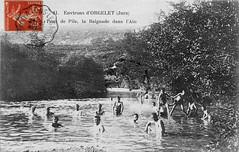 Les baigneurs au pont de la pyle