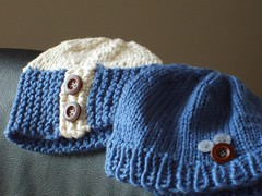 Baby Brown Hats Finished