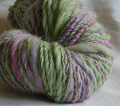 Lime and Violet swirl