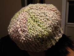 Urchin back view (ttmp) Tags: hat knitting urchin knitty