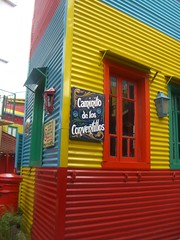 House in La Boca. (StephaneR) Tags: b argentina argentine colors architecture america buenosaires colours buenos aires south ba ayres caminito