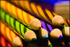 Pencil Candy (Paul Iddon) Tags: blue red brown macro green yellow closeup pencils colours lead peopleschoice iddon aplusphoto riotofcolours excapture themacrogroup mailciler