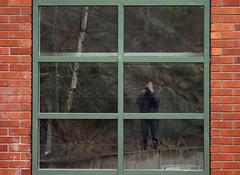 365/38 (Steffe) Tags: selfportrait reflection me window wall canon bricks steffe 365days