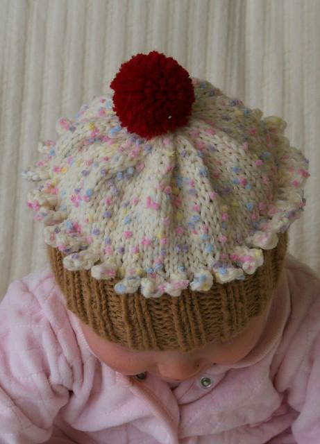 Cupcake Hat by Becky Veverka