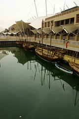 (mohammad khorshid (boali)) Tags: old sea canon boats aquarium angle small wide arab kuwait   40d