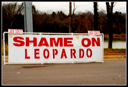 Shame on Leopardo