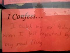 I confess #1