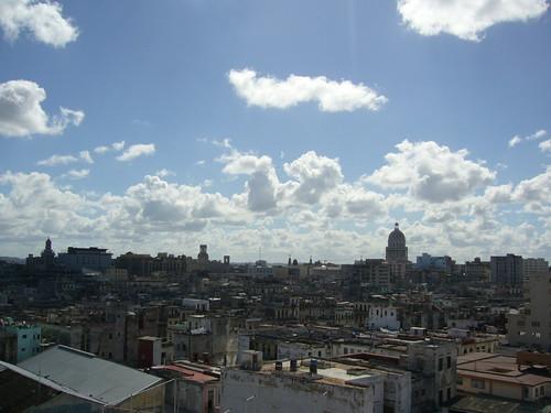 俯瞰哈瓦那中央區