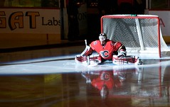 Miikka Kiprusoff (Scotmandu) Tags: canada calgary net ice hockey nhl goalie saddledome ab calgaryflames critique dps miikkakiprusoff pengrowth