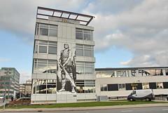 Eric de Noorman (FaceMePLS) Tags: mural arnhem nederland thenetherlands streetphotography tekening afbeelding nikond200 straatfotografie facemepls volkshuisvestingarnhem