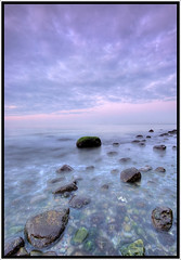 Baltic Sea (Stephmaster) Tags: cliff beach water rock stone bulb strand evening coast wasser availablelight horizon sigma steine 1020mm dri hdr rostock bluff steilkste felsen langzeitbelichtung mecklenburgvorpommern wilhelmshhe longtimeexposure 10mm eveningmood strmung mecklenburgwestpommerania