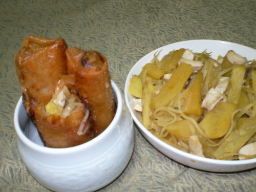 Papaya lumpia