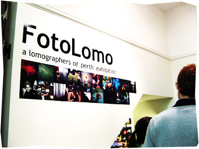 FotoLomo Exhibition Perth
