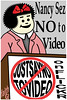 Just Say No!!! (faith goble) Tags: art advertising artist comic photographer bluegrass drawing kentucky ky faith creativecommons poet writer illustrator vector justsayno warondrugs adobeillustrator nancyreagan bowlinggreenky goble nancyandsluggo bowllinggreen faithgoble novidioonflickr grafixer ccbyfaithgoble gographix faithgobleart